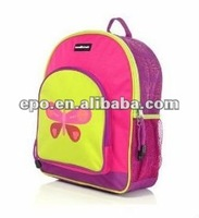 Pink Butterfly Kids Girls Backpack Back Pack School Bag