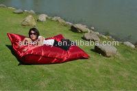 bean bag/giant cushion/UV resistent/selling hot chair/beach sofa