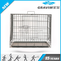 Different sizes double doors small 1008steel material cheap price pet creates dog cage