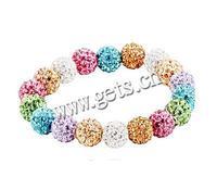 Gets.com rhinestone clay pave bead tennis bracelet settings