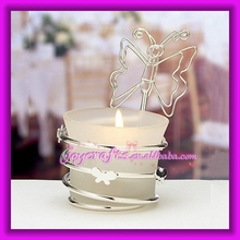 Butterfly Design Place Card Holder Tealight Holder