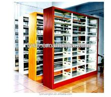 Good quality KD metal library bookshelves/shelving storage