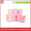 Die Cutting Pink Printing Paper Pack Bag