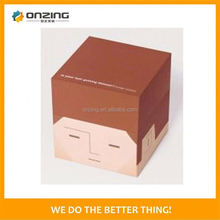 Onzing good quality cube blue jewelry box