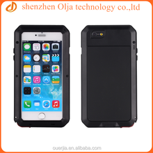 Metal Aluminum Shockproof Gorilla Glass waterproof case for iphone 4, for iphone 4s waterproof case, for iphone 4 case