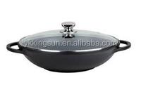 Aluminum aluminium chinese ceramic wok