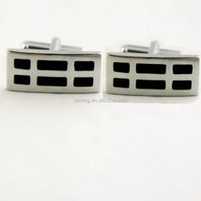 Top quality most popular custom design metal cufflinks with epoxy