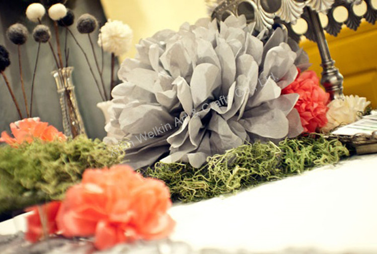 Folding large tissue paper flowers buy tissue paper flowerspaper party decorations tissue pomponsg mightylinksfo