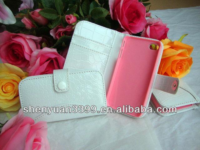 Aperto trasversale eco- Telefono sacchetto cassa del telefono mobile per iphone 2015