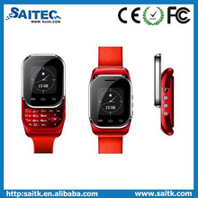 Bluetooth watch mobile phone child small mini smart watch mobile phone with metal slide dual card