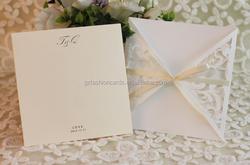 Selling Best European Wedding Party Invitation Wording in Light Brown