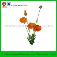Wild Flower Spray Artificial Poppy
