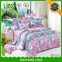 BEST SALE printed bedding/natural fabric bedding sets/ naturals bedding