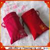 Wholesale Red Velvet Drawstring Bag