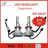 Off promotions of YF 12V car led headlight assembly H7, H8, H9, H11 kit 50W 3600LM 6000K bulb base in stock