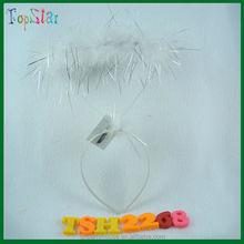 2015 mejor venta de blanco angel halo bebé diadema