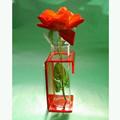 Alta calidad de acrílico del plexiglás florero decoración de la boda venta