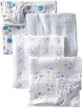 Baby Muslin Swaddle Blanket Wrap Super Soft 100% Organic Cotton 47 Inches Square