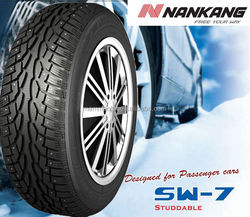 NANKANG Stud Winter Car Tires 205/55R16 195/50R15 Snow tyre