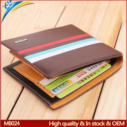 Trade assurance wallet Low price durable handbags and purse for business man Euro style
