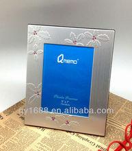 Aluminum Photo Frame with Velvet Backboard