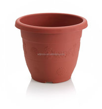 round brown pp greenhouse fibre clay pot for wholesale