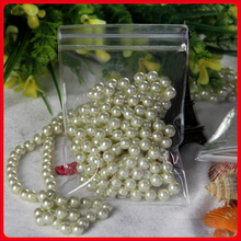 13cm*13cm*250micron Clear Beads Zip Lock Plastic Packaging Bags