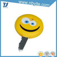 Good beautiful promotional best-selling rubber personalized key cover