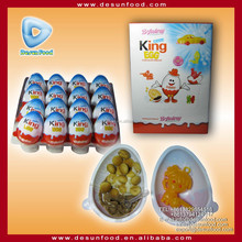 King egg chocolate biscuit with surprise toy