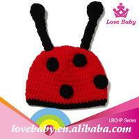 Hand crochet halloween baby infant girls boy witch hat headband
