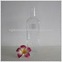 700ML HIGH FLINT VODKA GLASS BOTTLE