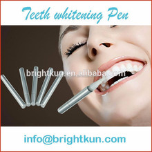 2cc OEM Logo Plastic Teeth Whitening Aftercare pens, After Pens, Sliver Teeth whitening Pen