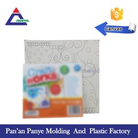 Free sample easy taking white painting canvas for student