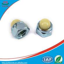 m12 China wholesales white plastic cap nut