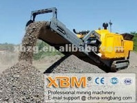 Mobile Crushing Plant for Crushing Various Types of Iron Ore