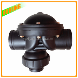 "Low cost DN65 2.5"" one way valve high pressure for 2 way or 3 way with plastic injection molding"