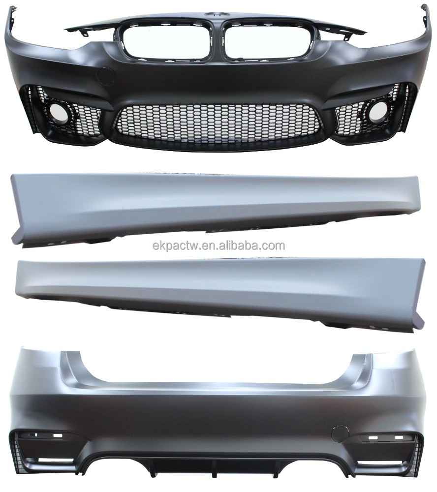 Rear Bumper Assy : Body kit front rear bumper assy m look for bmw f