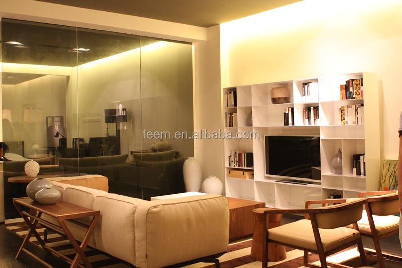 Moderne wohnzimmer möbel hochglanz buch schrank MDF wandschrank tv ...