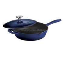 cast iron preseasoned fry pan,cast iron enamel round frying pan