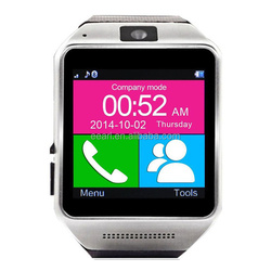 Hot Sale!! 2015 China Smart Watch Mobile Phone GV08 1.54 Inch MTK6260A Android Smart Watch Phone
