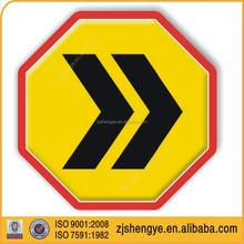 American octagon informative Aluminum bus stop traffic sign