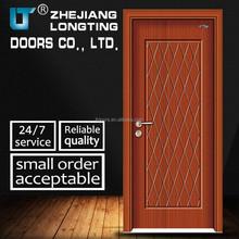 NEW Design Wood Interior Swinging PVC Door, MDF Door LTP-106