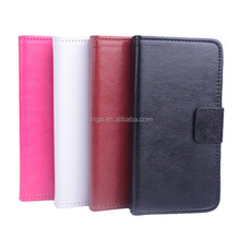 pu leather wallet case for infocus m2 , for case for infocus m2, for infocus m2 case