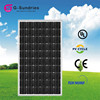 Structural disabilities mono 140w solar panel for home use