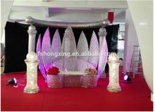 El escenario de la boda de decoración decoración El novio y la novia La silla