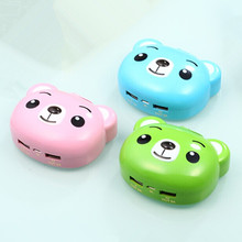 Three Battery power bank charger 7800mah Cartoon style