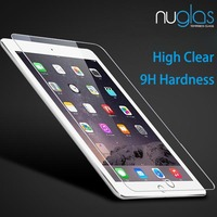 New Arrival!! Factory Sell Directly Nuglas High Quality 9H Clear Tempered Glass Screen Protector for iPad Mini 4