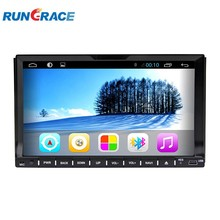 2 Din 7 inch sliding down car dvd player