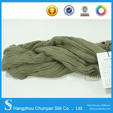 wholesale yarn 60s/2 100% hight twist cotton yarn for kintting made in china