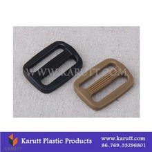 Custom plastic adjustable slide strap buckle for shoulder bag